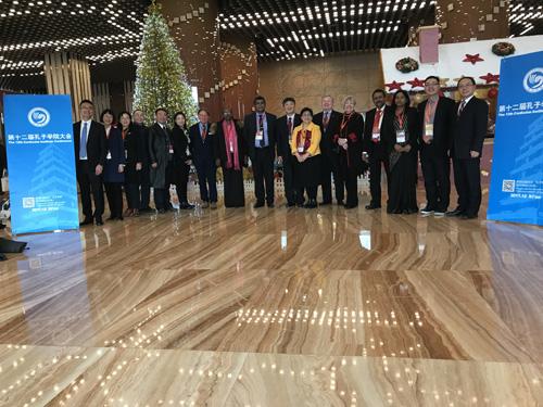 校领导出席第十二届全球...